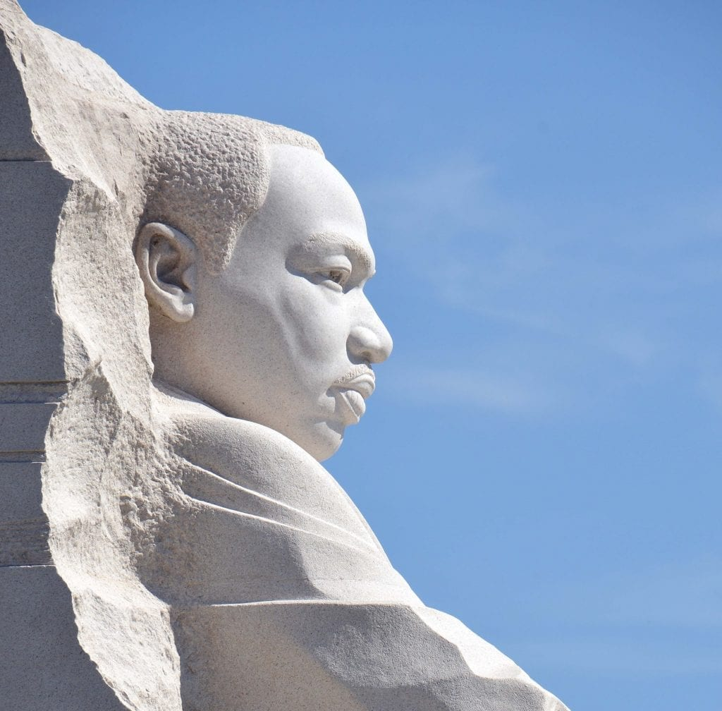 Martin Luther King, Jr. statue in Washington D.C.