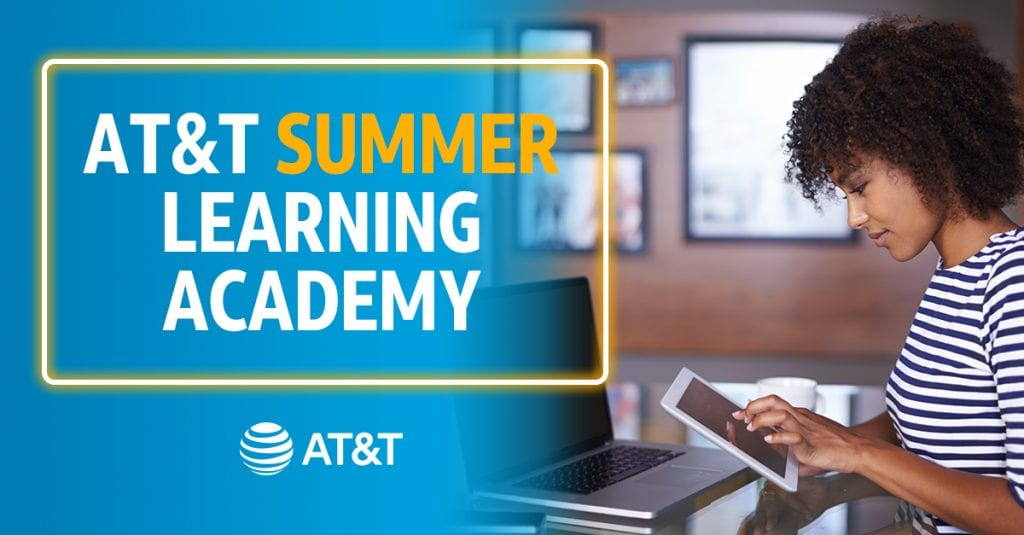 Registration for AT&T Summer Learning Academy is open now through June 12.