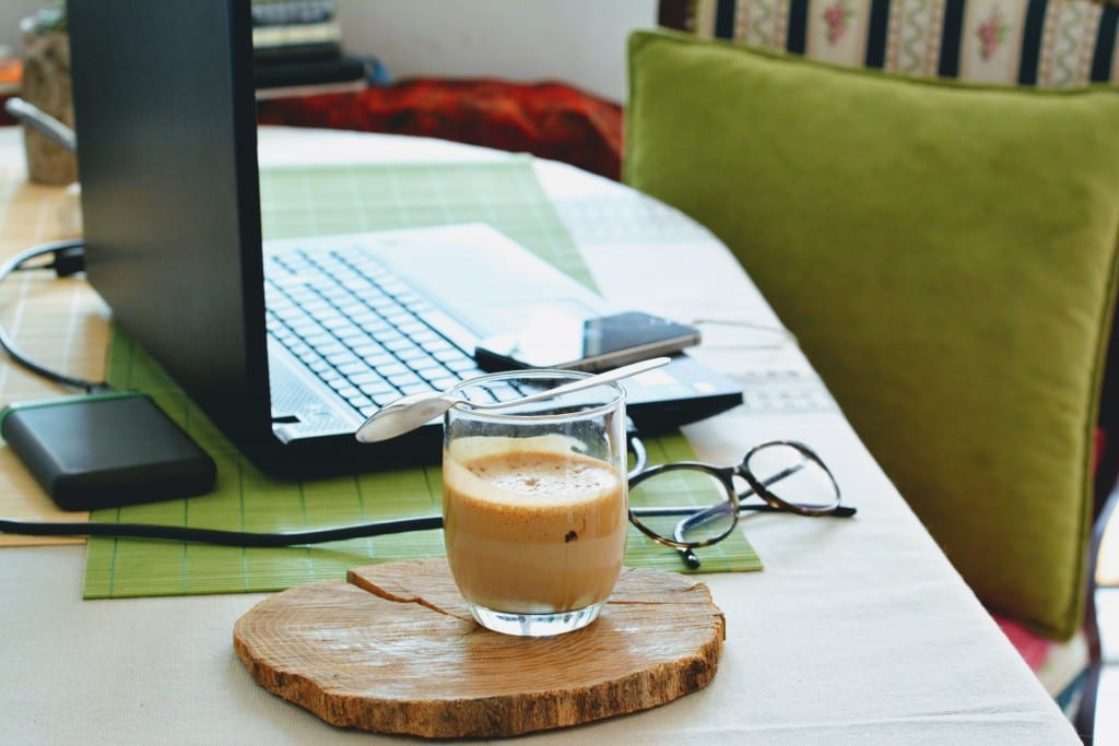 Laptop work from home